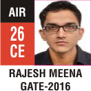 Peeyush Kr. Shrivastav, GATE 2016, RANK 26